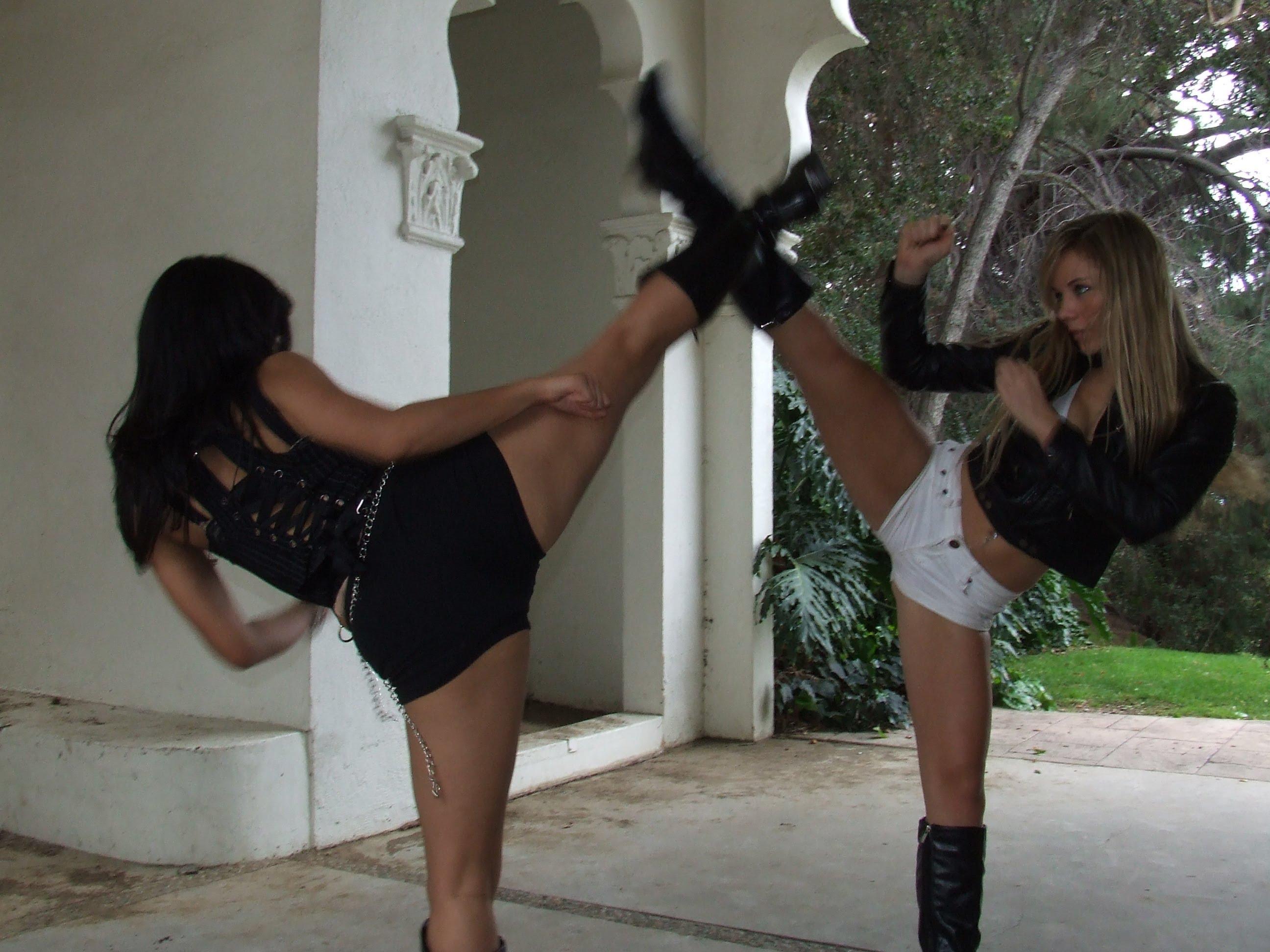 Female martial arts fetish 10 - 1 part 9