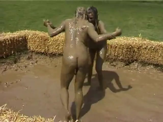 Nude female mud wrestling-3587